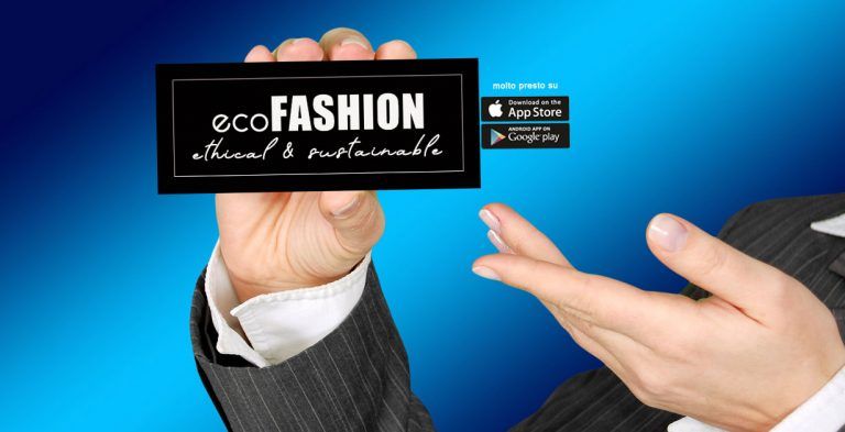 ECOFASHION app per Android e ioS
