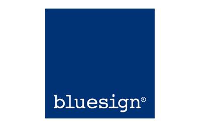 Logo Bluesign - certificazione tessile