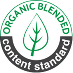 Logo Organic Content Blended