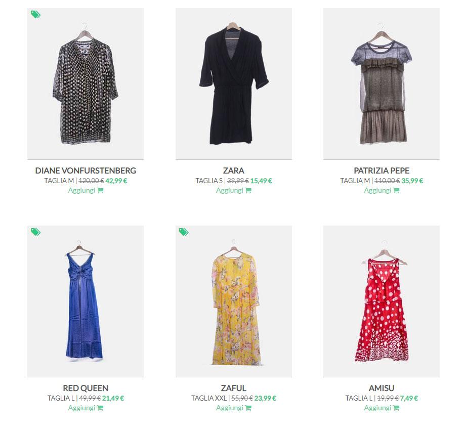 Vestiti di seconda mano in vendita su Micolet